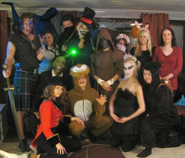 halloween naamiaiset 2011