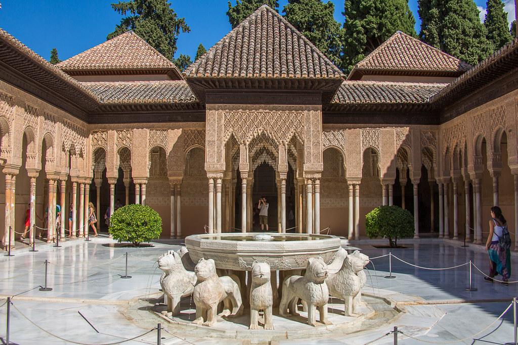 Patio De Los Leones La Alhambra F128377 Patio De Los Le Flickr