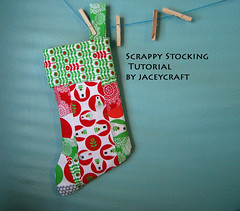 scrappy stocking!