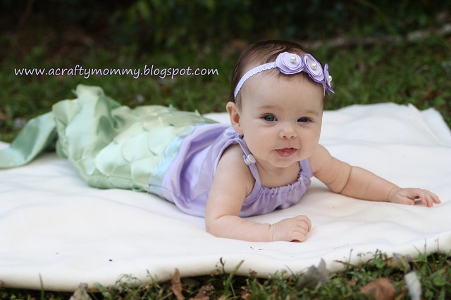 i have been planning on making my daughter a mermaid for halloween before she was even born i have loved mermaids since i was a kid probably since i first - Baby Mermaid Halloween Costume