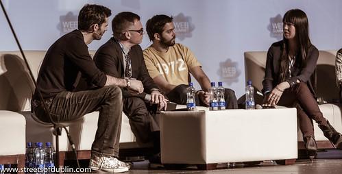 8101523601 982dc18e5b Matt Cowan Meets Chris Morton, Diego Berdakin, Shauna Mei, Carl Fritjofsson  And Olivia Gossett: Dublin 2012 Web Summit