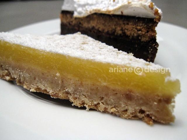 Take Five Cafe Gastown/lemon bar