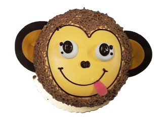 生日蛋糕 猴子