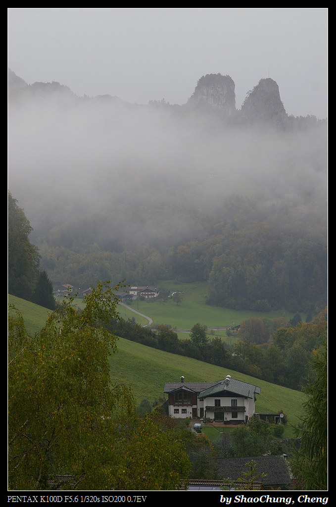 2012 10月 奧捷蜜月 D5-6 奧地利_薩爾茲堡 哈斯達特 捷克庫倫洛