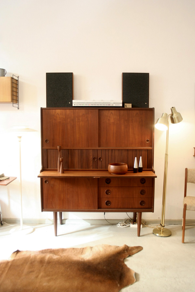 vintage galore the 60s teak heaven. Black Bedroom Furniture Sets. Home Design Ideas