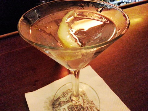 Musso & Frank's gin martini by Caroline on Crack
