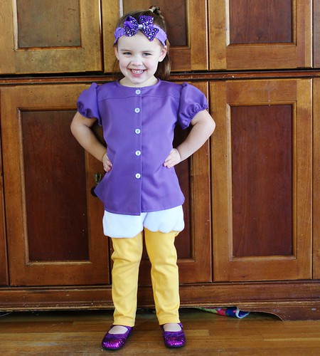 Daisy s costume was ev...