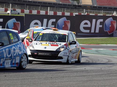 Jordi Palomeras en Eurocup Clio en el Circuit de Catalunya