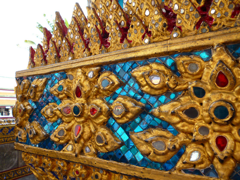Tiles of Bangkok's Grand Palace