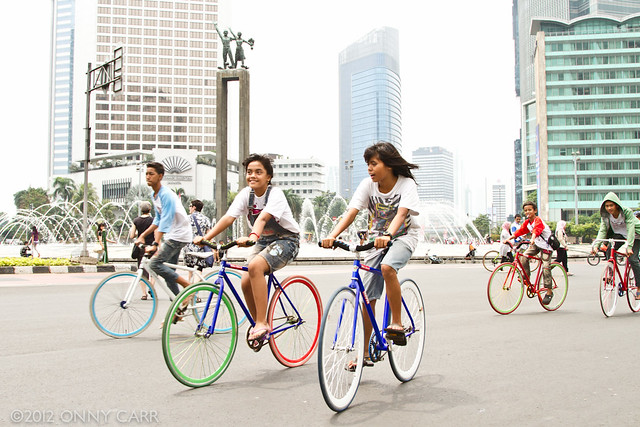 Ciclovia in Jakarta, Indonesia (Image Credit: killerturnip/Flickr, Licenced under CC BY-NC-ND 2.0