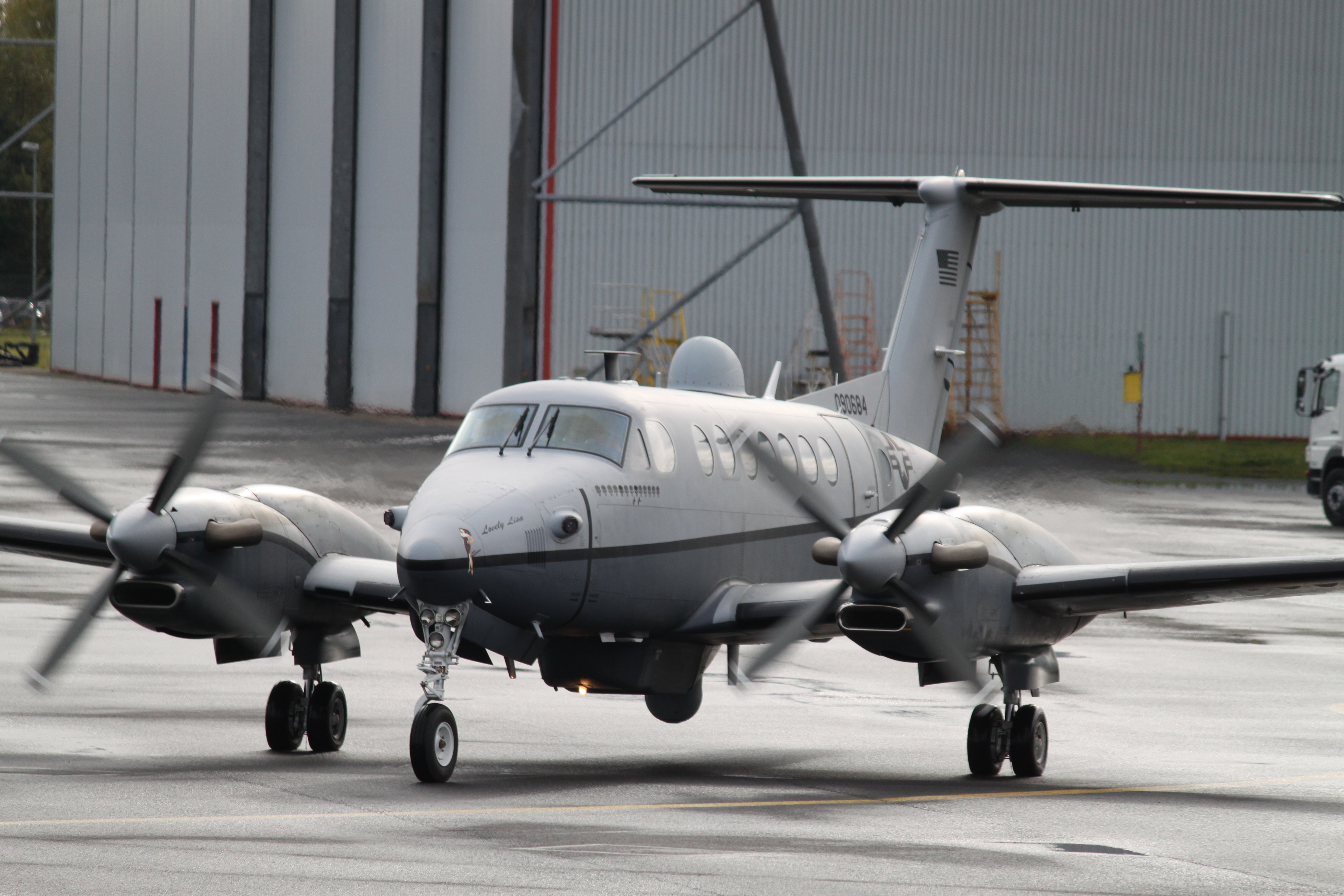 Beechcraft King Air 350 Naval  8108106074_fc40d940a4_o