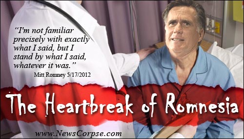Heartbreak of Romnesia