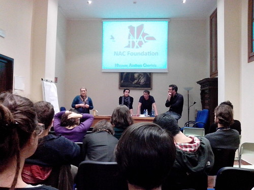 Talk #CostruireCultura + NAC by Ylbert Durishti