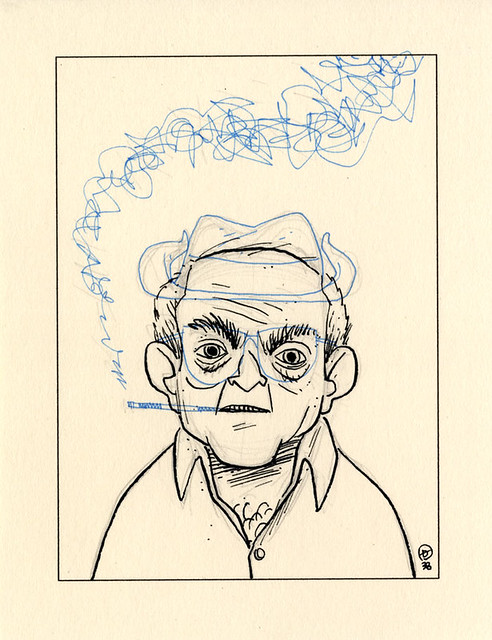 FOURTH :: Botched Ralph Steadman #1