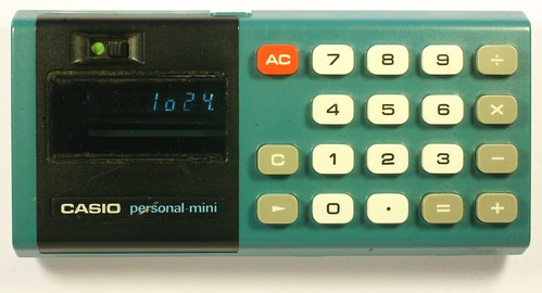 Casio Personal Mini Calculator