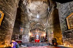 Sevan Monastery (interior panorama)