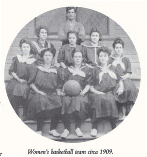 Women's Basketball at Pomona College in 1909