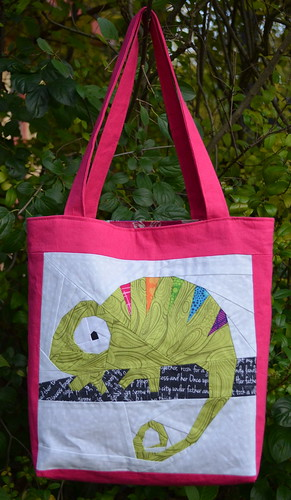 Mouthy Stitches Tote: Front