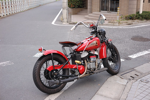 1942 Indian 741 bobber