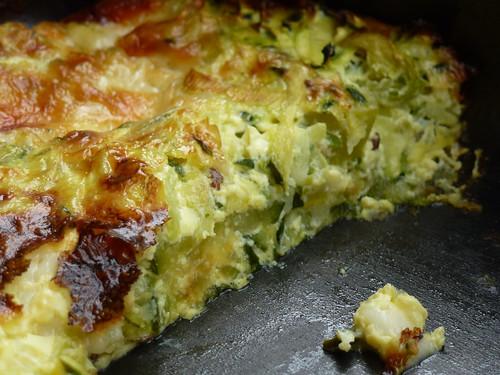 Zucchini & kumin quiche - Torta salata di zucchini & cumino
