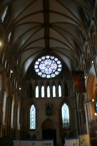 Transept with Bishop's Eye Window