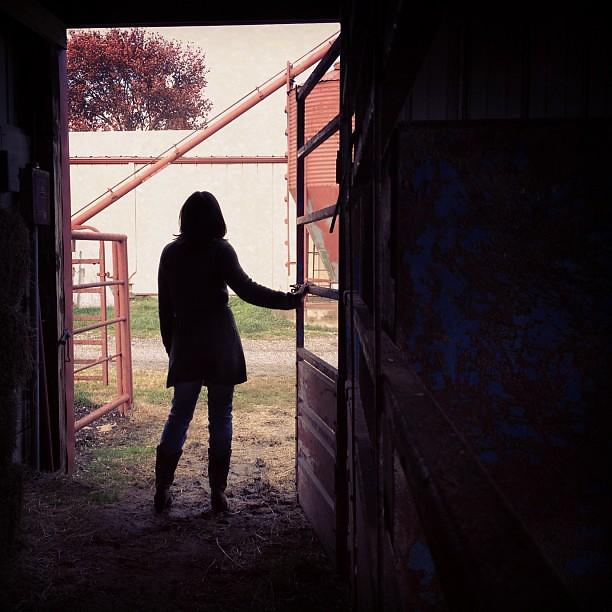 Push #selfie #silhouette