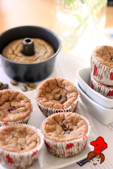健康輕食-低脂無油配方香蕉杯子蛋糕 banana cup cake 1