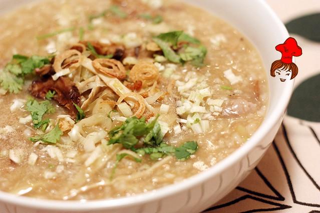 Taiwanese Rice porridge 1