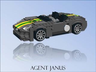 Agent Janus - Jaguar F-Type Roadster Racer