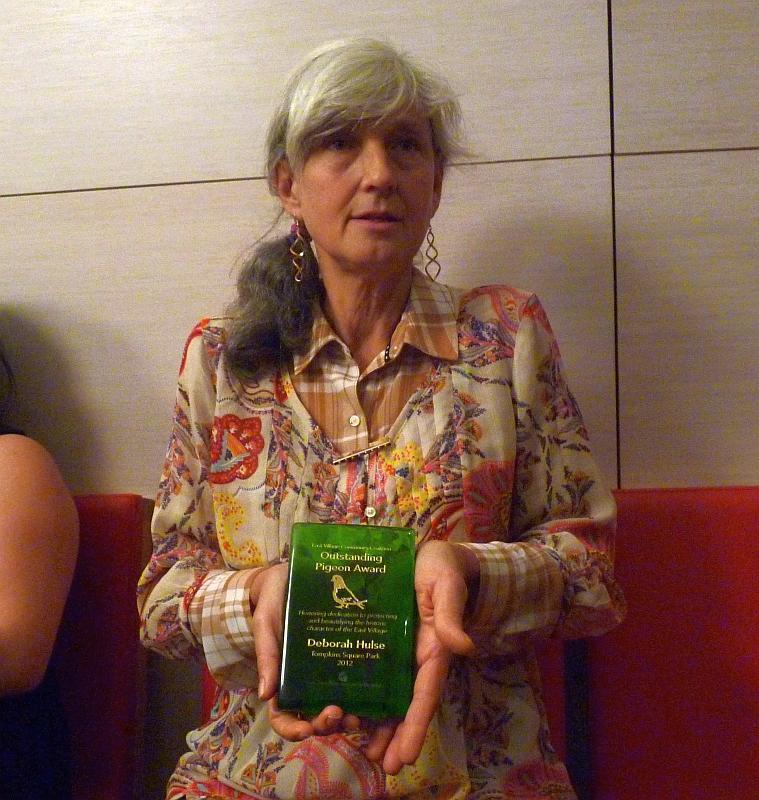 Award in Hand