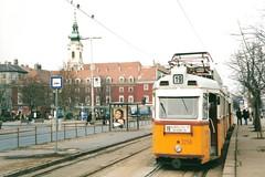 BKV UV tram, Batthyány tér, Budapest