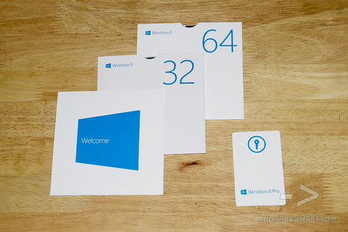 Unbox Windows 8 Pro Full Retail Package
