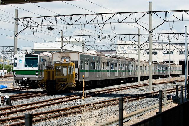 東京メトロ6000系6111F 入換