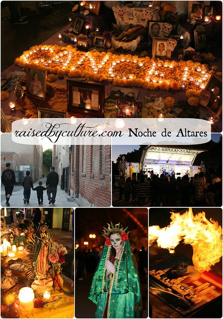 raisedbyculture.com Noche de Altares