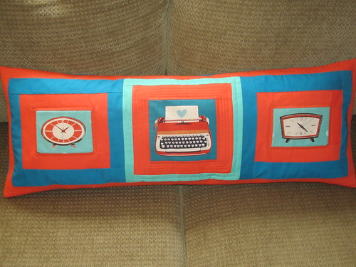 Melody Miller Color Block Pillow