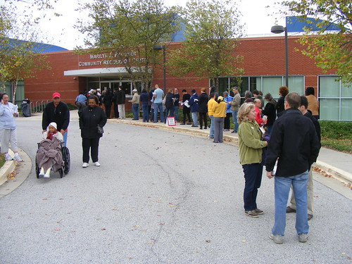 Early Voting at Praisner Rec Center