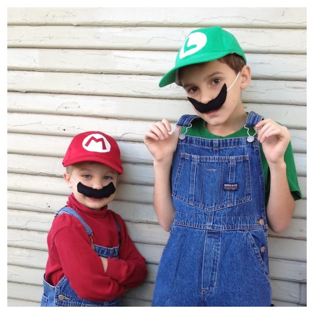 DIY Mario and Luigi Costumes