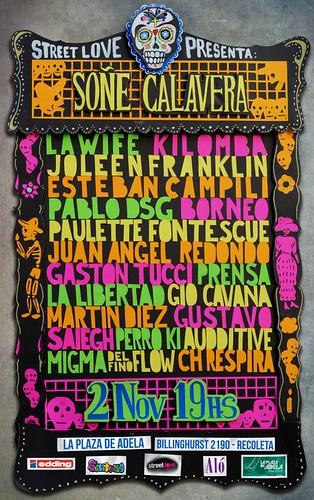 Soñe Calavera // expo Dia de los Muertos // 2 de nov 19 hrs. by martin diez