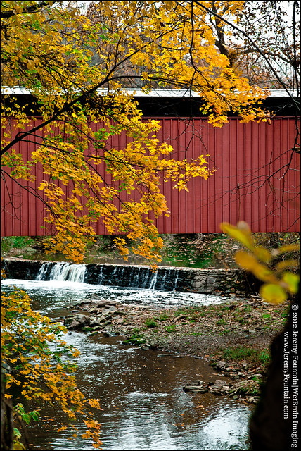 Last Covered Bridge in Philadelphia