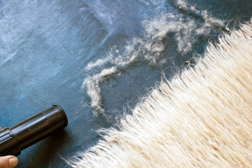 Brushing My Flokati Shag Carpet Cleaning Tips By Our