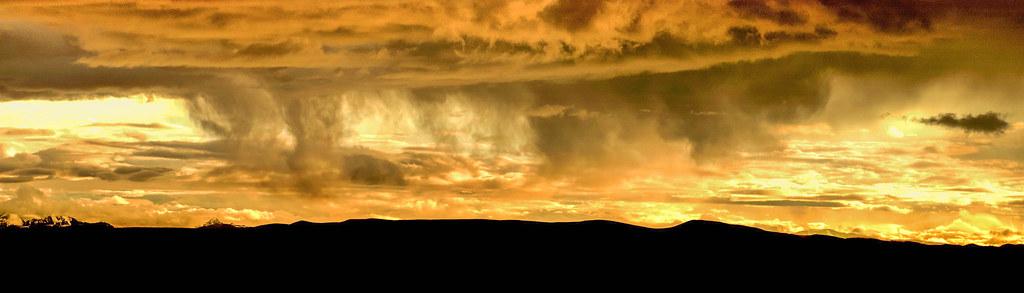 重游西藏-阿里玛旁雍错的日落 - 风景这边独好 - 风 景 这 边 独 好