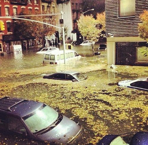 Paso de Sandy por Nueva York by teleSURtv