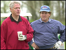 bill and roger clinton