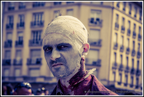 Zombiewalk 2012 - Dolor de cuello by diegol72