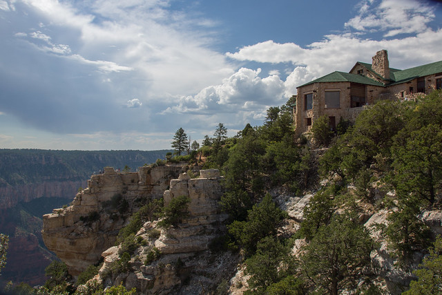 The Grand Canyon Lodge at the North Rim