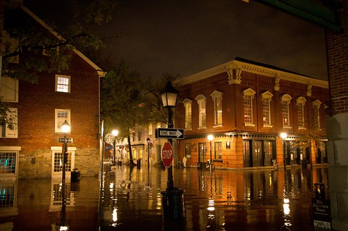 Old Town Alexandria Flooding