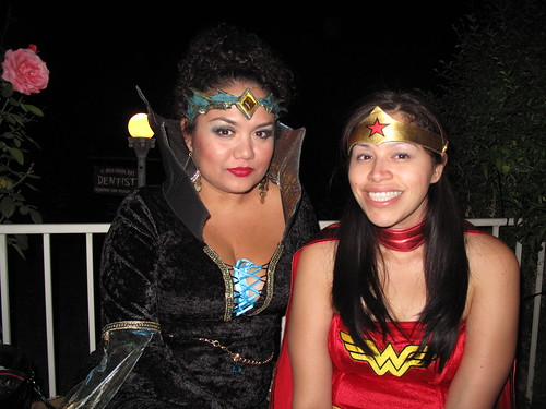 Sorceress and Diana Prince