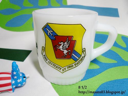 Fire King Pennsylvania National Guard coffee mug 1