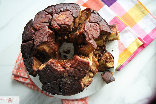 chocolate snickers bar monkey bread