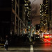 Hurricane Sandy's blackout and the streets of lower Manhattan
